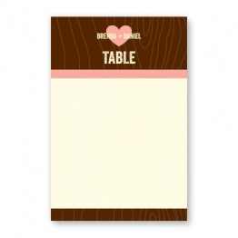 Evie Table Cards