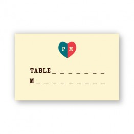 Sawyer Seating Cards