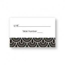 Delicately Bordered Seating Cards