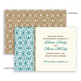 Florence Save The Date Cards