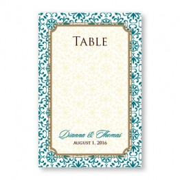 Florence Table Cards