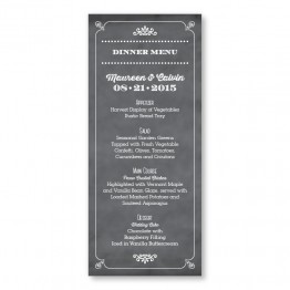 Tarryn Menu Cards