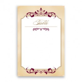 Greta Table Cards