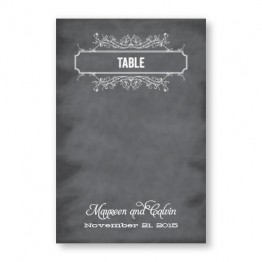 Heidi Table Cards