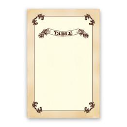 Cadence Table Cards