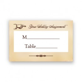Cadence Seating Cards