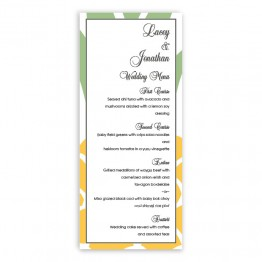 Juliette Menu Cards
