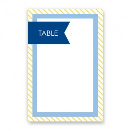 Hadley Table Cards