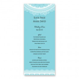 Stella Menu Cards