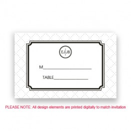 Coco Seating Cards