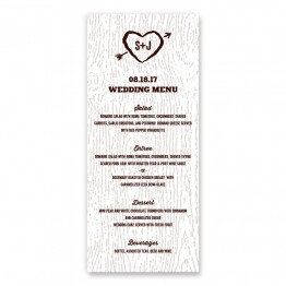 Ingrid Menu Cards