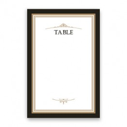 Sterling Table Cards