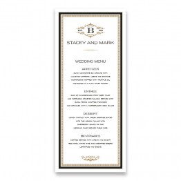 Rory Menu Cards