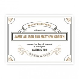 Alexa Save The Date Cards