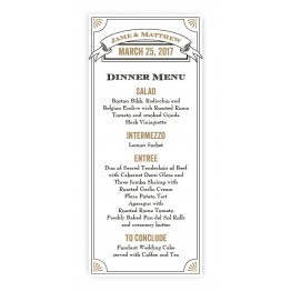 Alexa Menu Cards