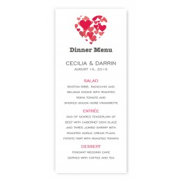 Holly Menu Cards