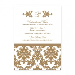 Harlow Save the Date Cards