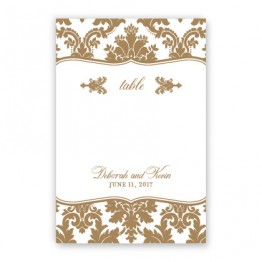 Harlow Table Cards