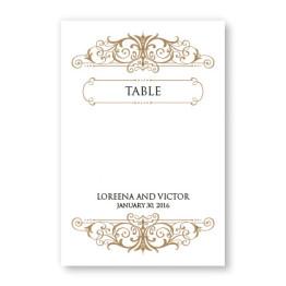 Ava Table Cards