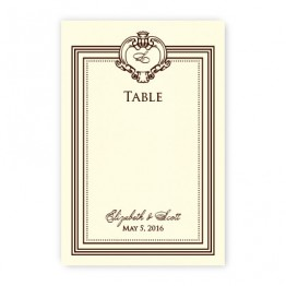 Aubrey Table Cards