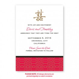 May Save The Date Cards