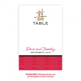 May Table Cards