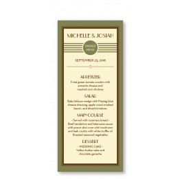 Fern Menu Cards