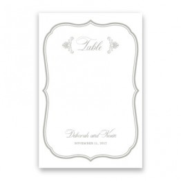 Catherine Table Cards