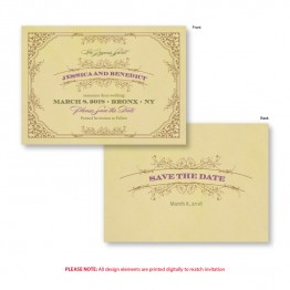 Melanie Save The Date Cards