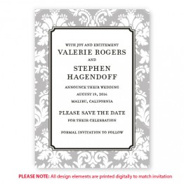 Gwen Save The Date Cards