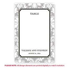 Gwen Table Cards