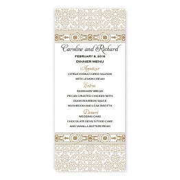 Sonja Menu Cards