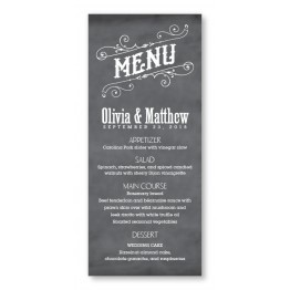 Mara Menu Cards