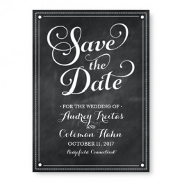 Tweed Save The Date Cards