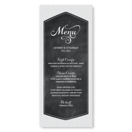 Tweed Menu Cards