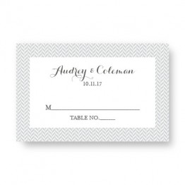 Tweed Seating Cards