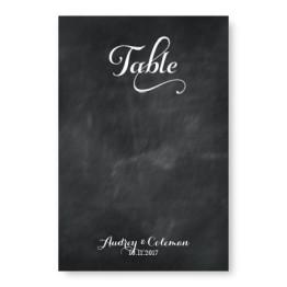 Tweed Table Cards