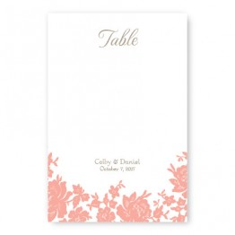 Antique Lace Table Cards