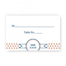 Petite Dots Seating Cards