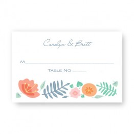 Blossoms Seating Cards