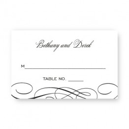 Luxe Seating Cards