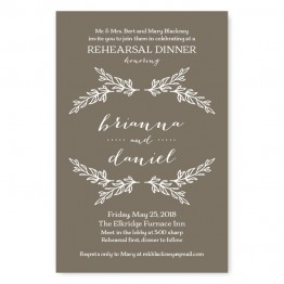 Verdant Rehearsal Dinner Invitations