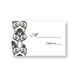 Romantic Vines Seating Cards