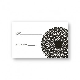Modern Lace Seating Cards