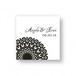 Modern Lace Favor Tags