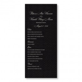 Sadie Thermography Menu Cards