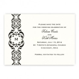 Lacey Save the Date Cards