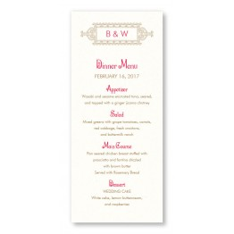 Lena Menu Cards