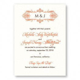 Shannon Save the Date Cards