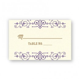 Helena Thermography Seating Cards
